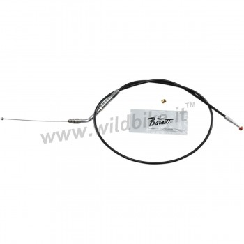 BLACK THROTTLE VINYL CABLE BARNETT 80 CM HD 56884-07 HARLEY DAVIDSON XL SPORTSTER '96-'19