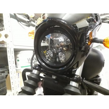 SIX LED FRONT HEADLIGHT BODY EU APPROVED 5.75 SUPERLIGHT FOR HARLEY DAVIDSON XG 750 STREET