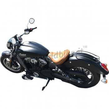 """PORTAPACCHI POSTERIORE 7"""" NERO PER INDIAN SCOUT/SCOUT SIXTY/BOBBER '15-'19"""