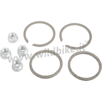 EXHAUST PORT GASKET KIT HEAVY DUTY HEX NUTS FOR PIPES AND MUFFLERS HARLEY DAVIDSON