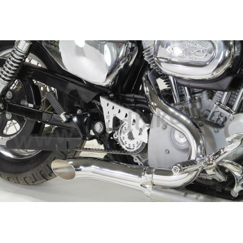 COMPLETE KIT WITH SPROCKET COVER OUTLAW CHROME FOR HARLEY DAVIDSON XL SPORTSTER '04-'19