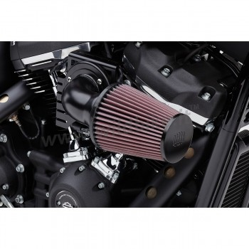 BLACK AIR FILTER KIT COBRA CONE HIGH PERFORMANCE FOR HARLEY DAVIDSON M-EIGHT SOFTAIL '18-'19