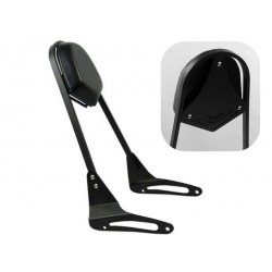 BACKREST SISSYBAR WIDE BLACK FOR KAWASAKI VULCAN S 650 '14 -'20