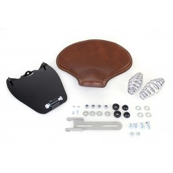 KIT SELLA MONOPOSTO IN PELLE A MOLLE CORBIN MARRONE PER INDIAN SCOUT/SIXTY/BOBBER '15-'20
