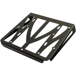 BLACK LUGGAGE RACK FOR DETACHABLE SISSYBAR MOTORCYCLE