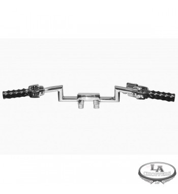 MANUBRIO LAC Z-BAR NARROW SHORTY PER HARLEY DAVIDSON
