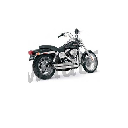 SCARICO BIG SHOTS STAGGERED PER HARLEY FXD DYNA '06 '12