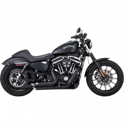 KIT HI-POWER STAGE 1 VANCE & HINES VO2 NAKED AND SHORTSHOTS 2INTO2 BLACK HARLEY DAVIDSON XL SPORTSTER '14-'20