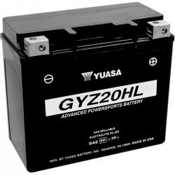 BATTERIA YUASA ORIGINALE ALTE PRESTAZIONI GYZ-20HL 20 Ah HARLEY DAVIDSON TWIN CAM 97-17