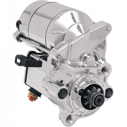 CHROME HIGH-PERFORMANCE 1.4 KW STARTER MOTOR FOR HARLEY DAVIDSON XL SPORTSTER 86-20