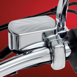FRONT BRAKE RESERVOIR COVER CHROME FOR YAMAHA XVS 650/1100 DRAGSTAR