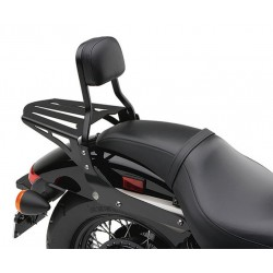 LUGGAGE RACK FORMED COBRA BLACK FOR SISSYBAR FOR MOTORCYCLE