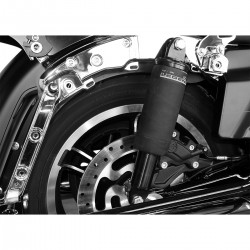 "LEGEND SUSPENSION SHOCK REAR AIR AERO-A 13"" BLACK HARLEY DAVIDSON FLTR ROAD GLIDE 15-20"