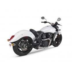 EXHAUST SYSTEM 2INTO1 TBR COMP-S MEGAPHONE INOX INDIAN SCOUT 15-20