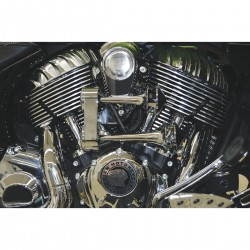 CHROME BITON TRUMPET HORN KIT INDIAN CHIEF CHIEFTAIN 2017