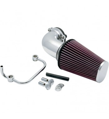 KIT AIRCHARGER K&N CROMATO PER HARLEY XL SPORTSTER '91-'12