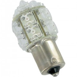 SPARE BULB LED BULB 360 STYLE 1156 ORANGE LIGHT FOR MOTORCYCLES