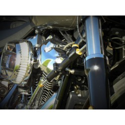 STEERING DAMPER KIT HYPERPRO HARLEY DAVIDSON XL SPORTSTER 14-20
