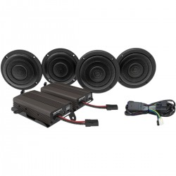 AMPLIFIER AND SPEAKER KIT WBA ULTRA KIT 600W HARLEY DAVIDSON FLHT ELECTRA GLIDE 14-20