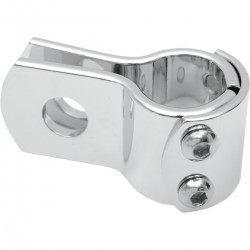"UNIVERSAL CHROME BRACKET CLAMP 1 ""for pipes and BIKE FRAMES"