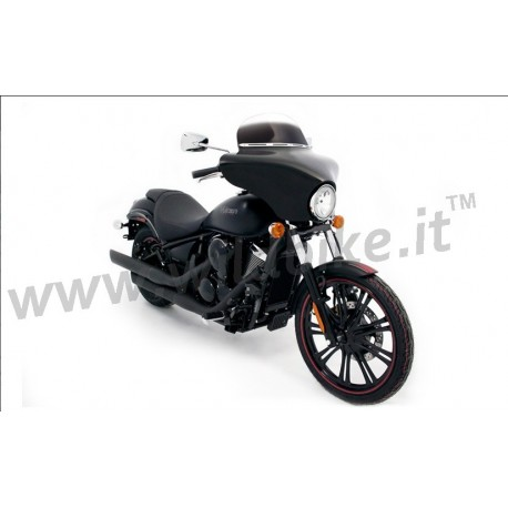 parabrezza carenatura batwing fairing kawasaki vn 900 custom. Black Bedroom Furniture Sets. Home Design Ideas