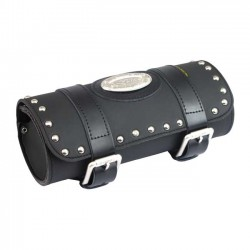 TOOL BAG SMALL STUDDED FOR CUSTOM MOTORCYCLE AND HARLEY DAVIDSON