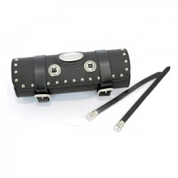 TOOL BAG MEDIUM STUDDED DE LUXE FOR CUSTOM MOTORCYCLE AND HARLEY DAVIDSON