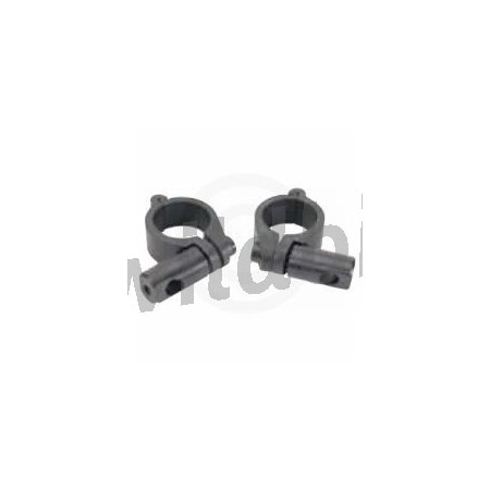 "KIT CLAMP DA 1 1/4"" PER PARABREZZA VIPER CUSTOM"
