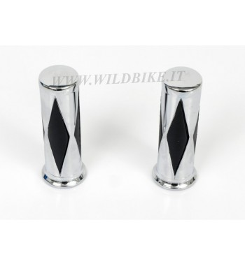 MANOPOLE CROMATE DIAMOND DA 25,4 MM.