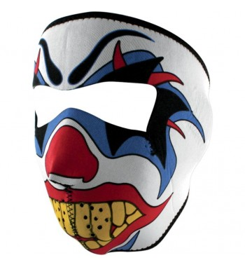 MASCHERINA NEOPRENE SOTTOCASCO CLOWN LETHAL DESIGN