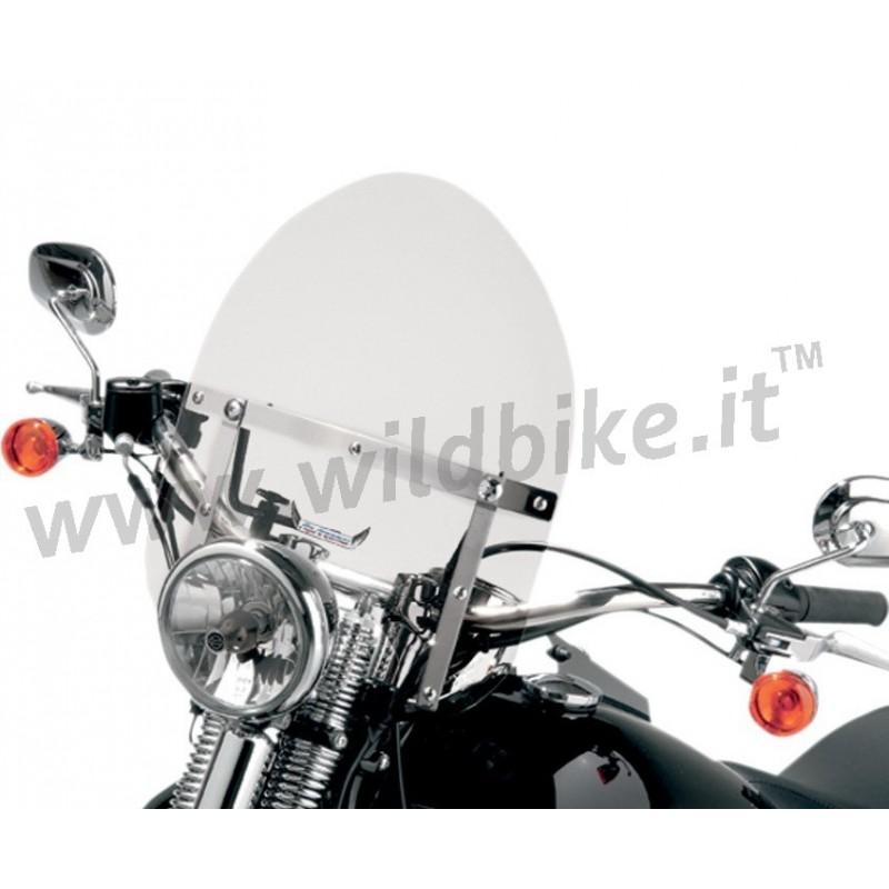 Mini Bike Windshield : Mini police motorcycle windshield honda shadow custom