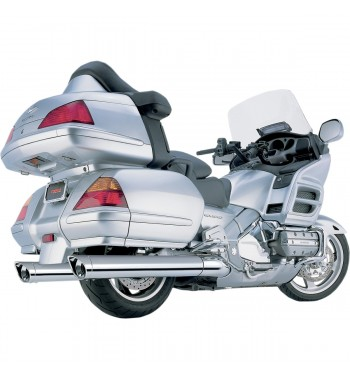 "SCARICHI COBRA CLASSIC SCALLOPED 4"" HONDA GL 1800 GOLDWING '01-'12"