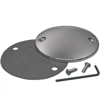 COPERCHIO ISPEZIONE ANTICIPO POINT COVER BOMBATO CROMATO HARLEY DAVIDSON BIG TWIN '84 -'99