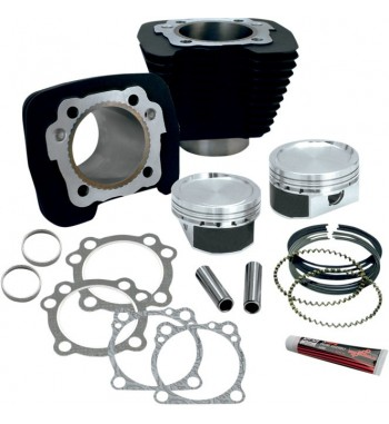 S&S ENGINE CONVERSION KITS BLACK FROM 1200 CC HARLEY DAVIDSON XL SPORTSTER '87-'18