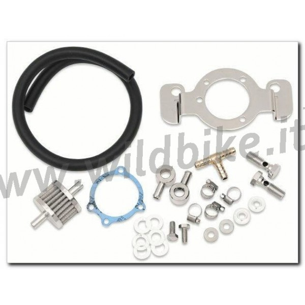 CRANKCASE BREATHER SUPPORT BRACKET KITS AIR FILTER FOR HARLEY DAVIDSON  MOTORCYCLE