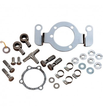CRANKCASE BREATHER SUPPORT BRACKET KITS AIR CLEANER FOR HARLEY DAVIDSON BIG TWIN/TWIN...