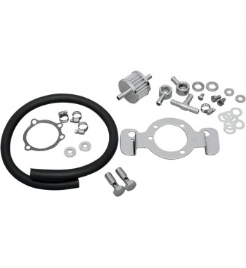 CRANKCASE BREATHER SUPPORT BRACKET KITS AIR FILTER FOR HARLEY DAVIDSON XL SPORTSTER...