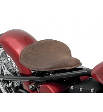 SPRINGS BROWN SOLO SEAT LOW PROFILE AND MOUNTING KIT HARLEY DAVIDSON FXD DYNA '96-'16