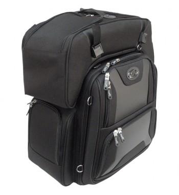 BAG FTB3600 SPORT COMBO BACKPACK FOR SISSY BAR BACKREST CUSTOM MOTORCYCLE AND HARLEY
