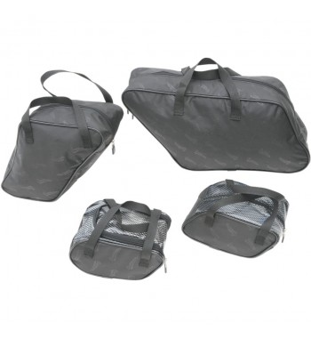 PACKING CUBE SET SADDLEBAGS LINERS FOR HARD BAGS HARLEY DAVIDSON FLD SWITCHBACK