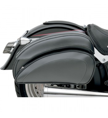SADDLEBAGS CRUIS'N DE LUXE WITH SUPPORT FOR CUSTOM BIKE AND HARLEY