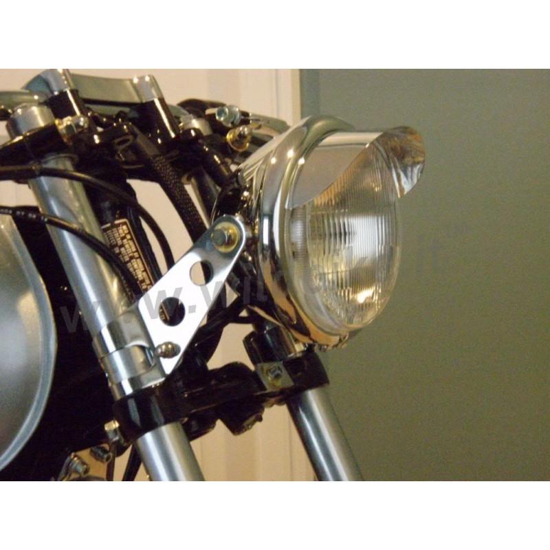 c t laterale montage fourche 30 40 mm phare custom moto et harley davidson. Black Bedroom Furniture Sets. Home Design Ideas