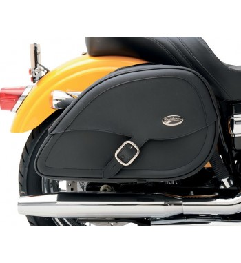 SADDLEBAGS CRUISER TEARDROP CUT-OUT HARLEY DAVIDSON XL SPORTSTER IRON FORTY EIGHT