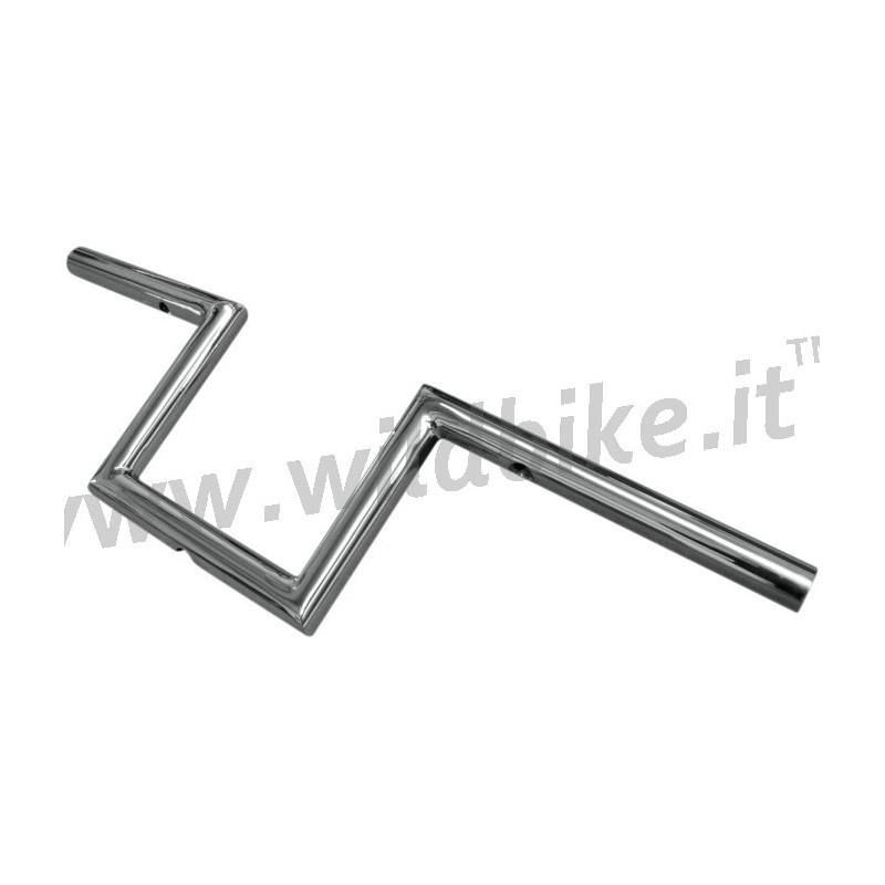 handlebar old school chrome 1 u0026quot  height 6 u0026quot  narrow z custom