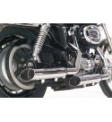 "SCARICHI MARMITTE 3"" SLASH OUT PER HARLEY DAVIDSON XL1200X SPORTSTER FORTY EIGHT"