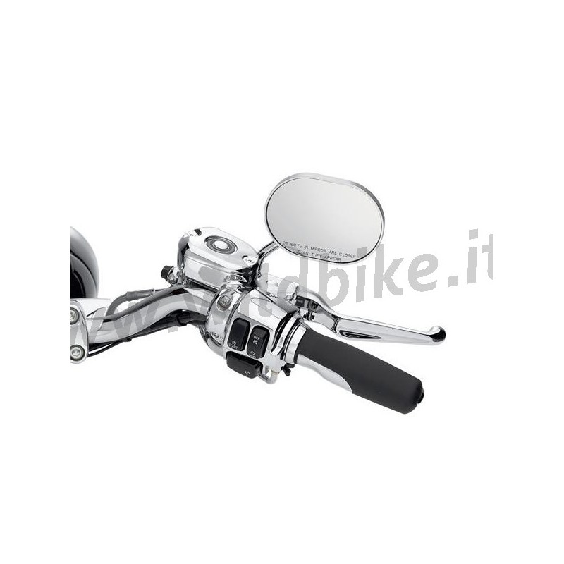 handlebar control switch housing kit chrome harley. Black Bedroom Furniture Sets. Home Design Ideas