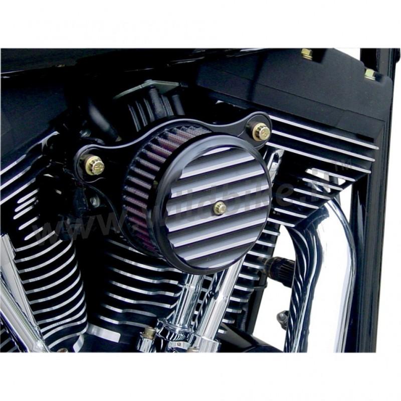 filtre a air high power joker machine ailettes noir harley davidson xl sportster 39 07 39 17. Black Bedroom Furniture Sets. Home Design Ideas