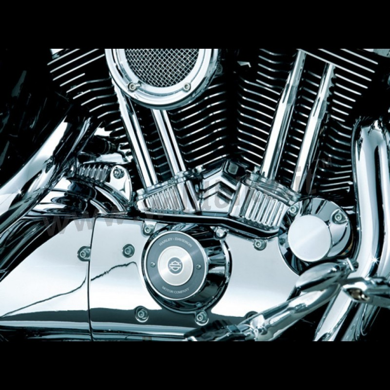 TAPPET BLOCK ACCENTS CHROME COVER HARLEY DAVIDSON XL SPORTSTER \'04-\'18