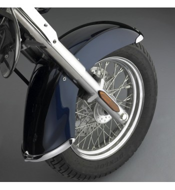 ACCENT TIPS BUMPER CHROME FRONT FENDER FOR KAWASAKI VN 900 CLASSIC