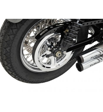 CHROME PULLEY COVER FOR HARLEY DAVIDSON XL SPORTSTER '04-'18